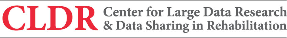 Center for Large Data Research & Data Sharing in Rehabilitation